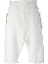 Lost And Found Ria Dunn Tailored Shorts White