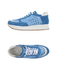 D'acquasparta Low Tops And Trainers Pastel Blue