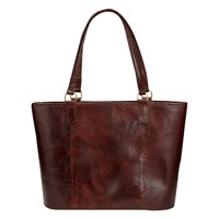 East Joan Leather Bucket Bag Cocoa
