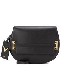 Valentino Garavani My Rockstud Large Saddle Bag Black