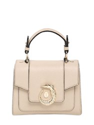 Trussardi Small Lovy Perforated Leather Bag