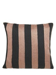 Ferm Living Salon Bengal Velvet Pillow Brown Black