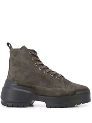 Pierre Hardy Rangers Ankle Boots Green