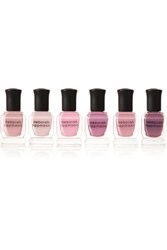 Deborah Lippmann Bed Of Roses Set Of Six Nail Polishes Antique Rose