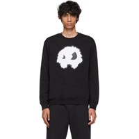 Mcq By Alexander Mcqueen Black Padded Mad Chester Sweatshirt