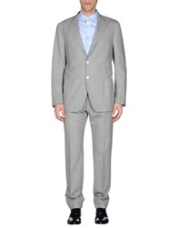 Tombolini Suits And Jackets Suits Men Grey