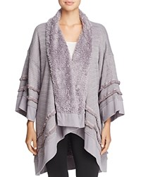 Honeydew Hold Me Tight Reversible Wrap Grey