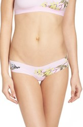 Free People Women's Fiona Hipster Thong Pink