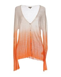 Maliparmi Knitwear Cardigans Women Orange