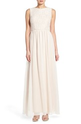 Women's Speechless 'Mabel' Lace Sleeveless Gown