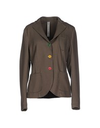 Manuel Ritz Suits And Jackets Blazers Women Dove Grey