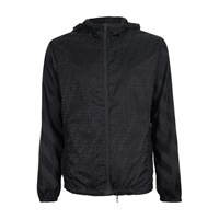 Fendi Ff Nylon Jacket Black