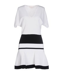 Genny Dresses Short Dresses Women White