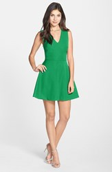 Women's Felicity And Coco Back Cutout Fit And Flare Dress Emerald Green