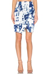Style Stalker Dark Surf Skirt Blue