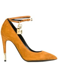 Tom Ford Ankle Strap Pumps Nude And Neutrals