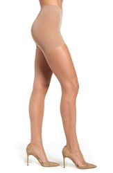 Hanes Plus Size Women's Perfect Nudes Pantyhose Beige Nude