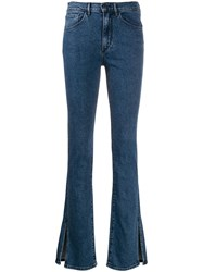 3X1 High Rise Ankle Slit Jeans 60