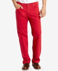 Levi's 569 Loose Straight Fit Jeans Scooter Red