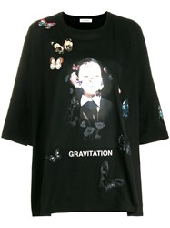 Valentino Gravitation T Shirt Black
