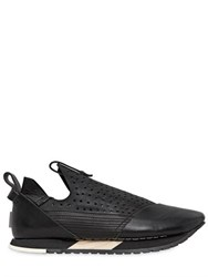 Artselab Perforated Leather Slip On Sneakers