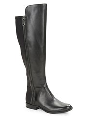 Bandolino Camme Leather Knee High Boots Black