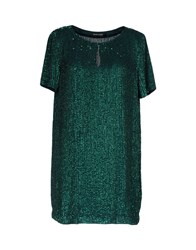 Guess By Marciano Short Dresses Emerald Green