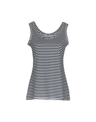 Bruno Manetti Tank Tops Dark Blue