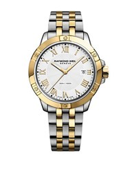 Raymond Weil Tango Round Analog Bracelet Watch Two Tone