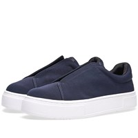 Eytys Doja Fabric Slip On Blue