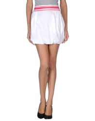 Wesc Mini Skirts White