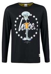 Hype Long Sleeved Top Black
