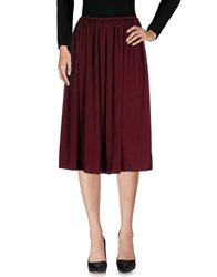 Gigue 3 4 Length Skirts Maroon