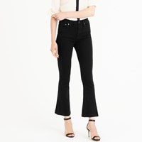 J.Crew Billie Demi Boot Crop Jean In Black