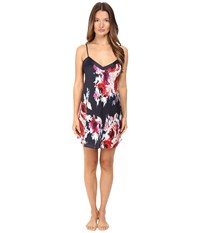 Kate Spade Charmeuse Chemise Blurry Floral