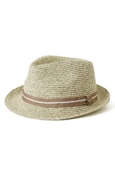 Goorin Bros. Men's Brothers Keep It Real Straw Trilby