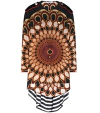 Givenchy Printed Silk Blouse Multicoloured