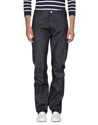Maison Kitsune Denim Denim Trousers
