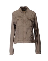 Guess By Marciano Jackets Khaki