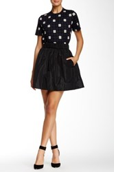Orla Kiely Flared Skirt Black