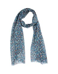 Mosaique Scarves Turquoise