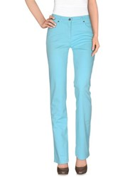 Gattinoni Trousers Casual Trousers Women Sky Blue