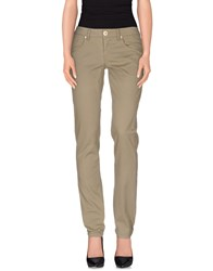 Blumarine Trousers Casual Trousers Women Military Green