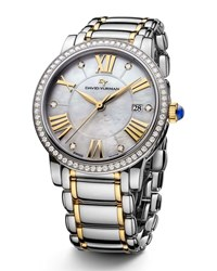 David Yurman The Classic Timepiece Steel And 18K Gold 38Mm Multi Colors