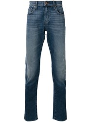 J Brand Tyler Jeans Men Cotton Polyurethane 32 Blue
