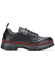 Prada Chunky Sole Low Top Sneakers Black