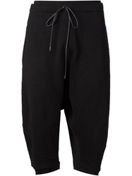 Daniel Andresen Harem Cropped Trousers Black