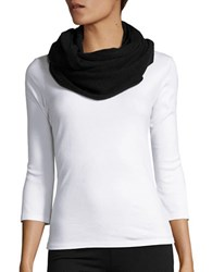 Lord And Taylor Cashmere Infinity Loop Scarf Black