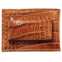 Moore And Giles Alligator Magnetic Money Clip Wallet