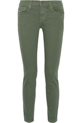 The Great Skinny Skinny Mid Rise Jeans Army Green
